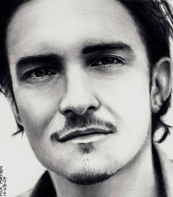 Orlando Bloom by Rick-Kills-Pencils