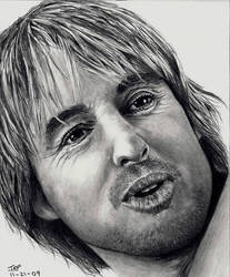 Owen Wilson by Doctor-Pencil
