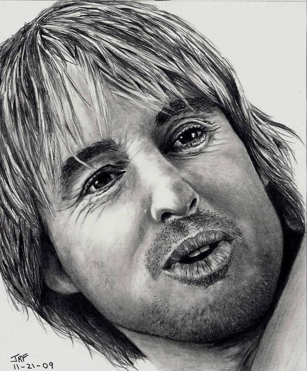 Owen Wilson by Doctor-Pencil