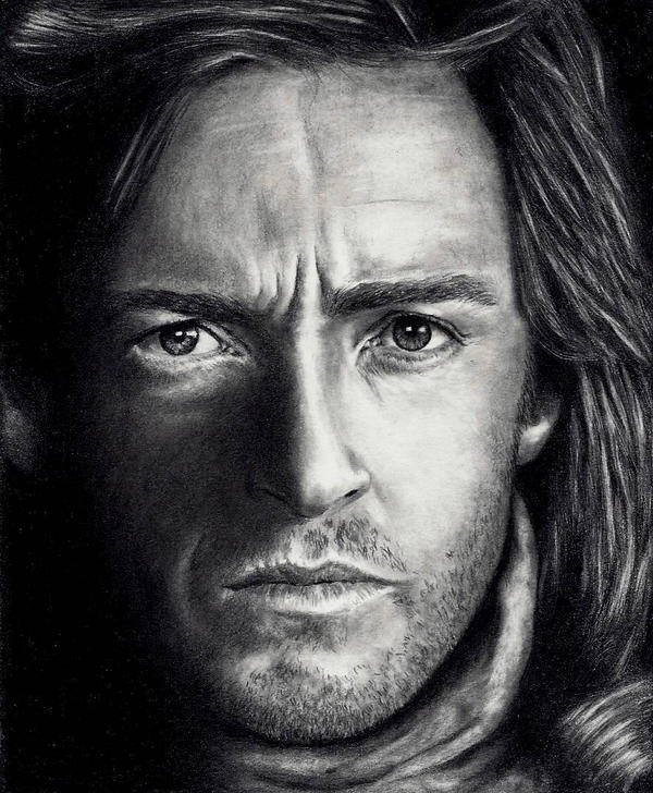 Hugh Jackman by Doctor-Pencil