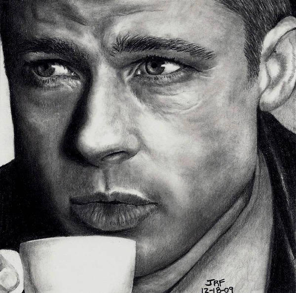 Brad Pitt - Oceans Twelve by Rick-Kills-Pencils