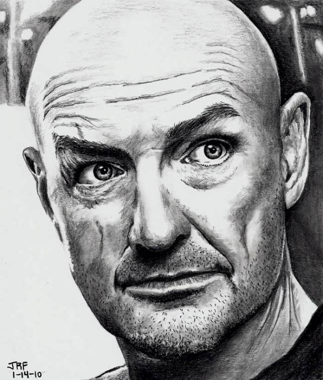 Terry O'Quinn as John Locke by Doctor-Pencil