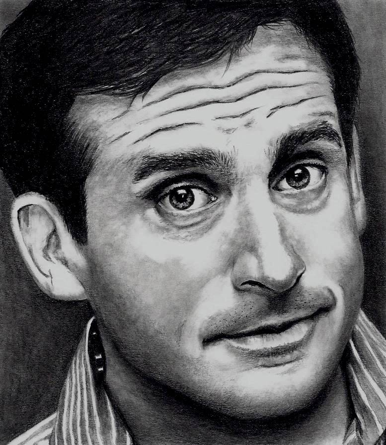 Steve Carell - The Office by Doctor-Pencil