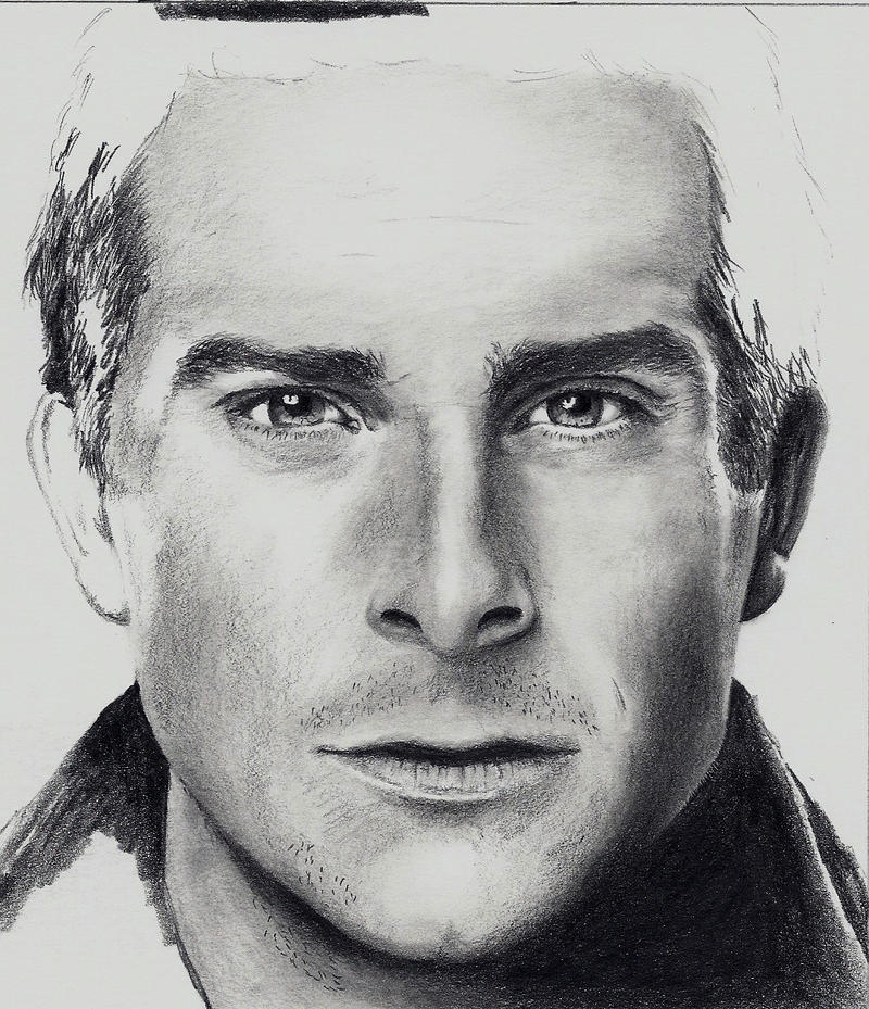 WIP - Bear Grylls by Doctor-Pencil