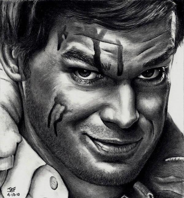 Dexter Morgan - Michael C Hall by Doctor-Pencil