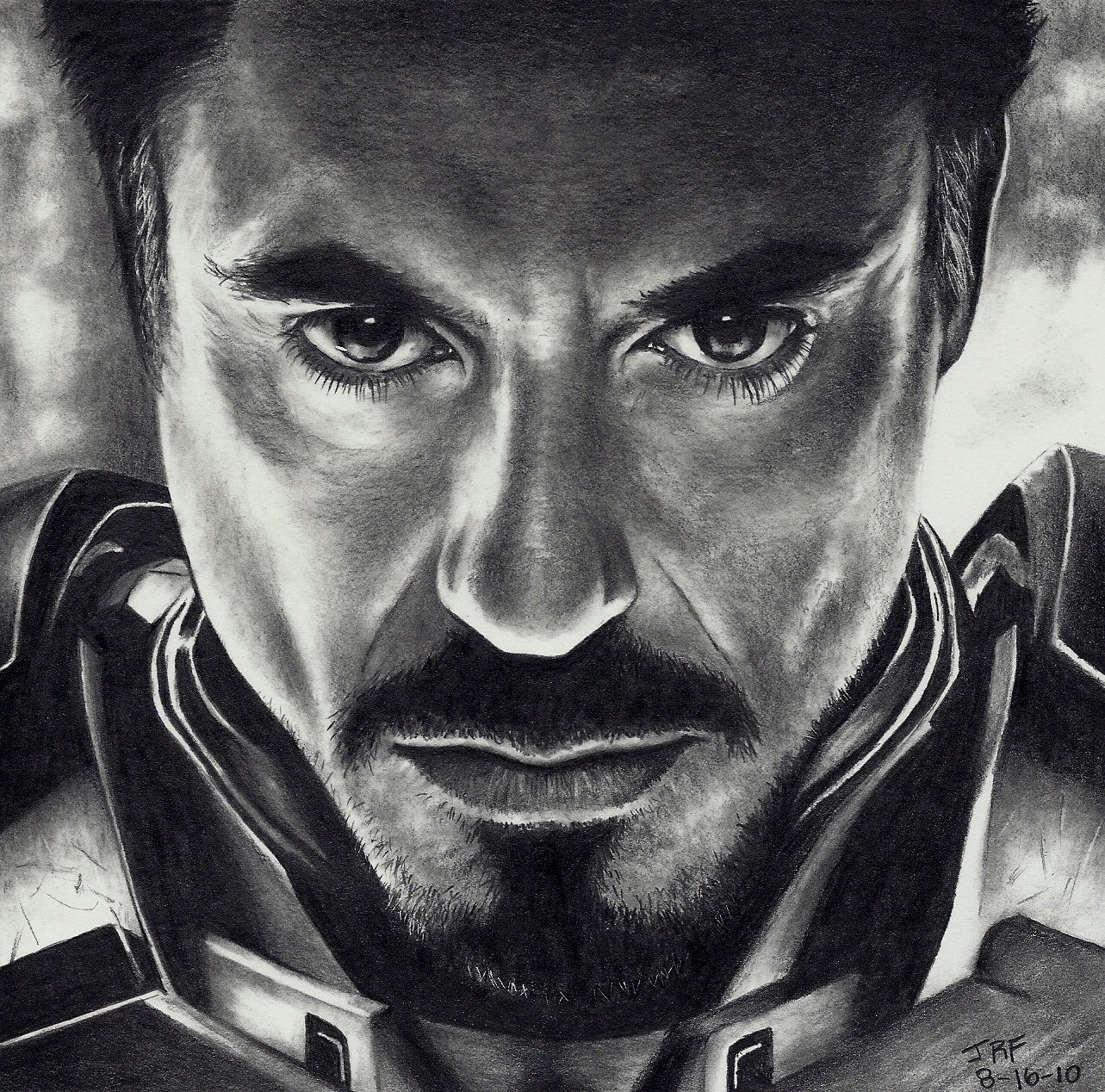 Iron Man - STEP 8 of 8 by Rick-Kills-Pencils
