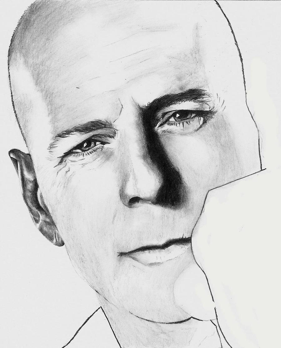 Bruce Willis - scan 1 by Rick-Kills-Pencils