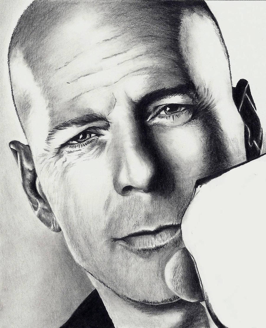 Bruce Willis - scan 4 by Doctor-Pencil