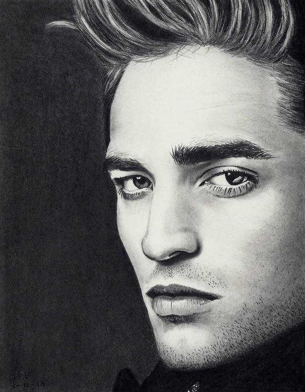 Robert Pattinson - Twilight by Rick-Kills-Pencils