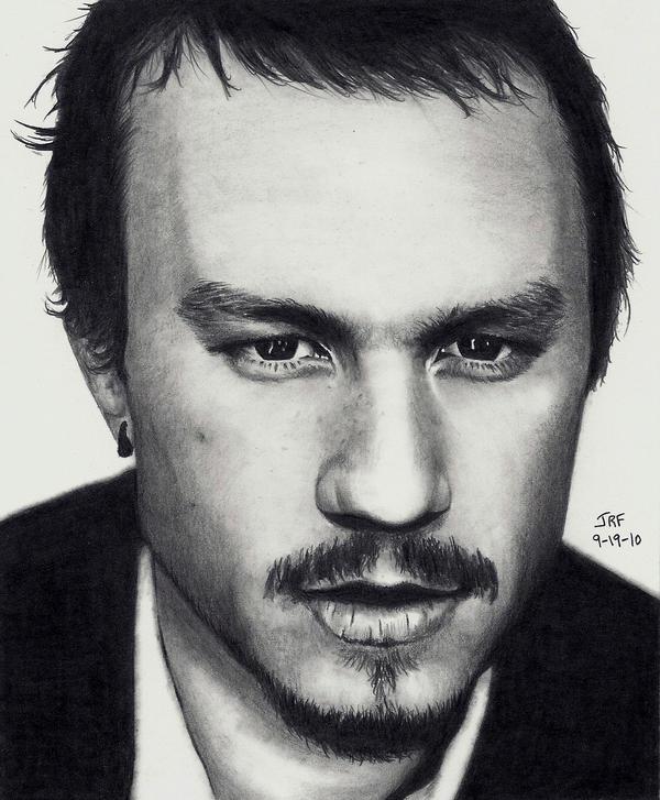 Heath Ledger - Himself by Rick-Kills-Pencils