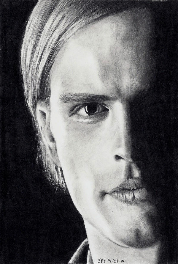 Matthew Gray Gubler - Dr Reid by Rick-Kills-Pencils