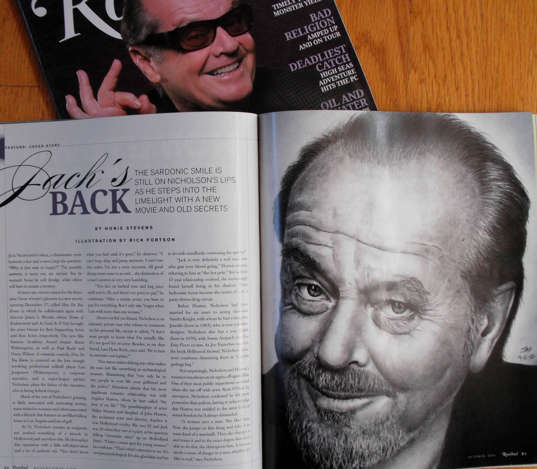 My Jack Nicholson - Published by Rick-Kills-Pencils