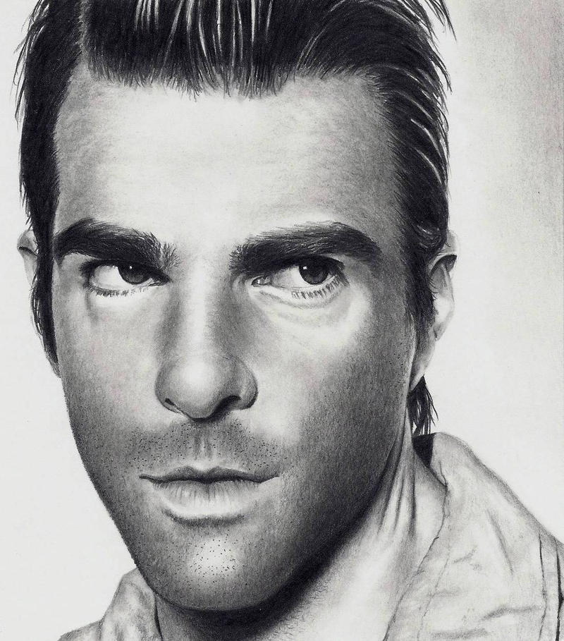 Zachary Quinto by Doctor-Pencil