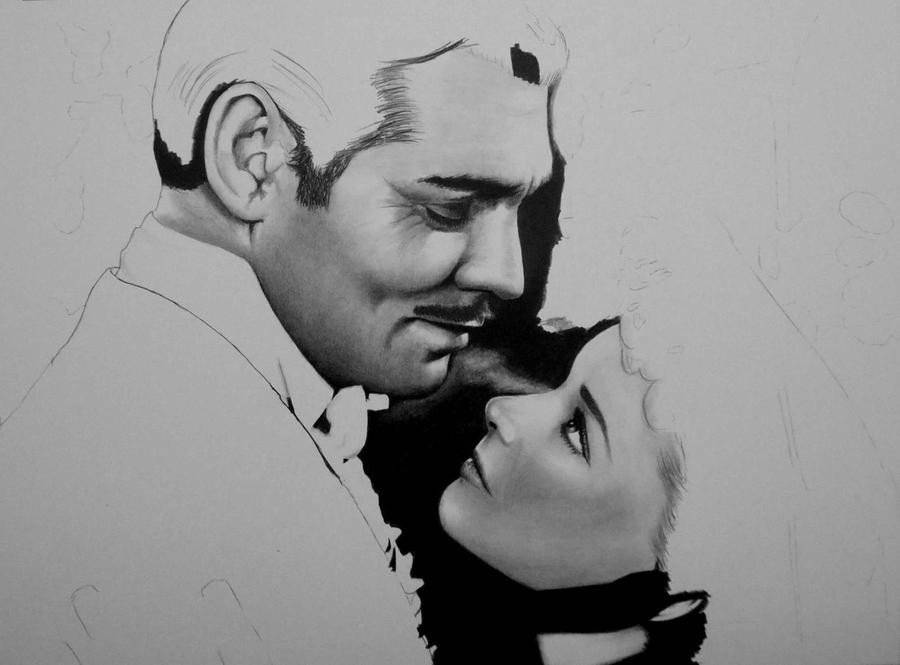 WIP - Gone with the Wind by Doctor-Pencil