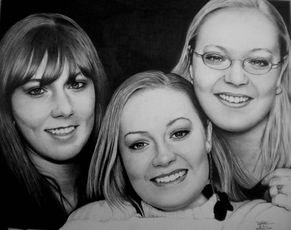 3 Sisters - Commission by Doctor-Pencil