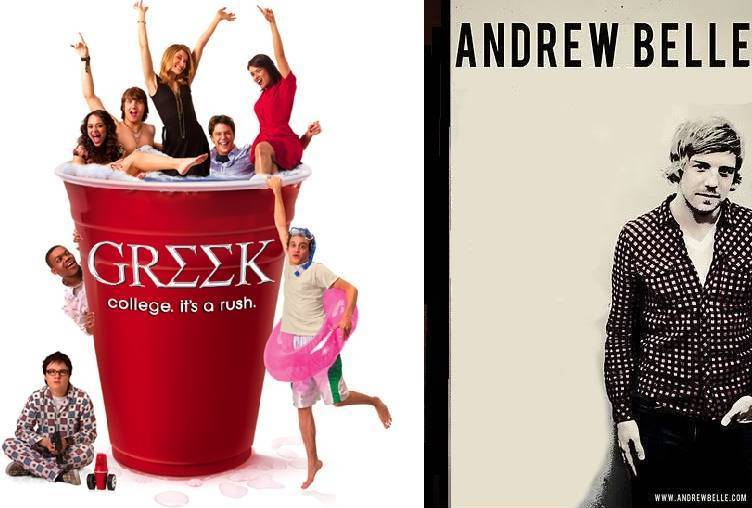 Andrew Belle on TV show GREEK by Doctor-Pencil
