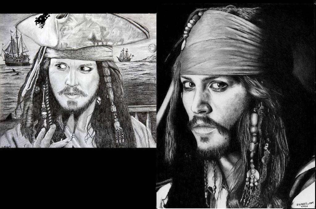 Jack Sparrow - 28 months later by Doctor-Pencil