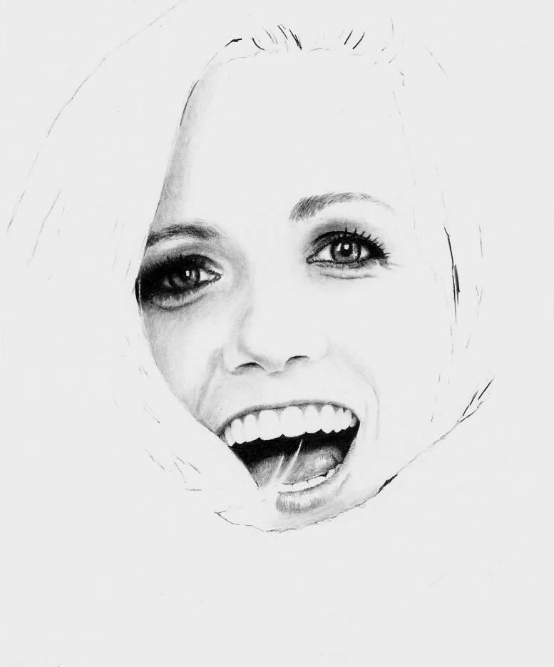 Katie Herzig - WIP 1 of 4 by Doctor-Pencil