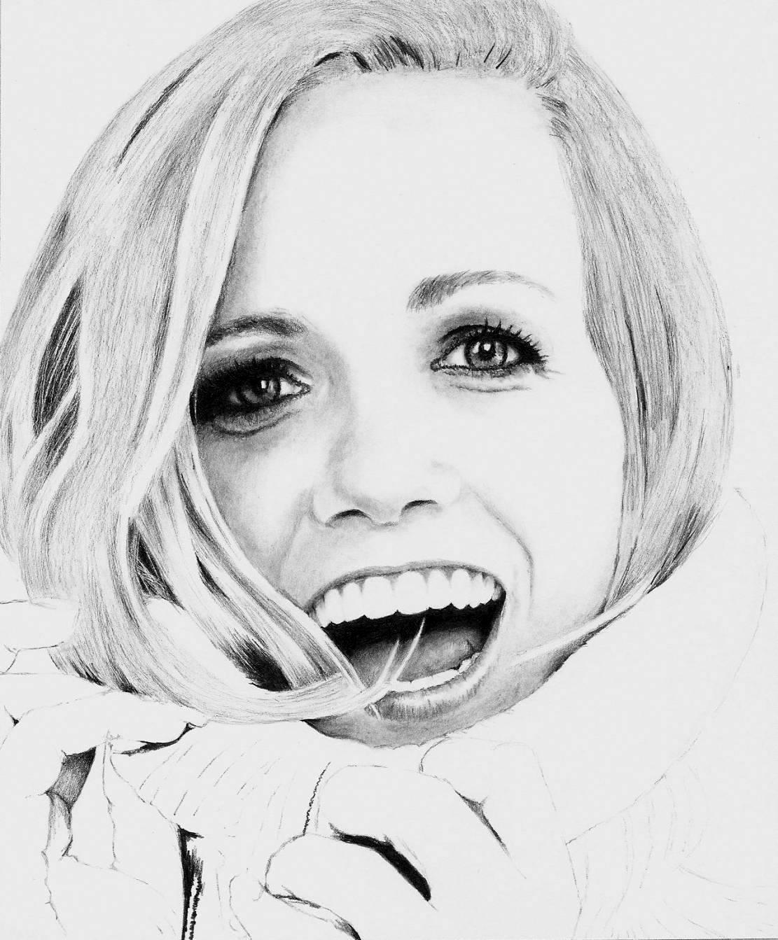 Katie Herzig - WIP 3 of 4 by Doctor-Pencil