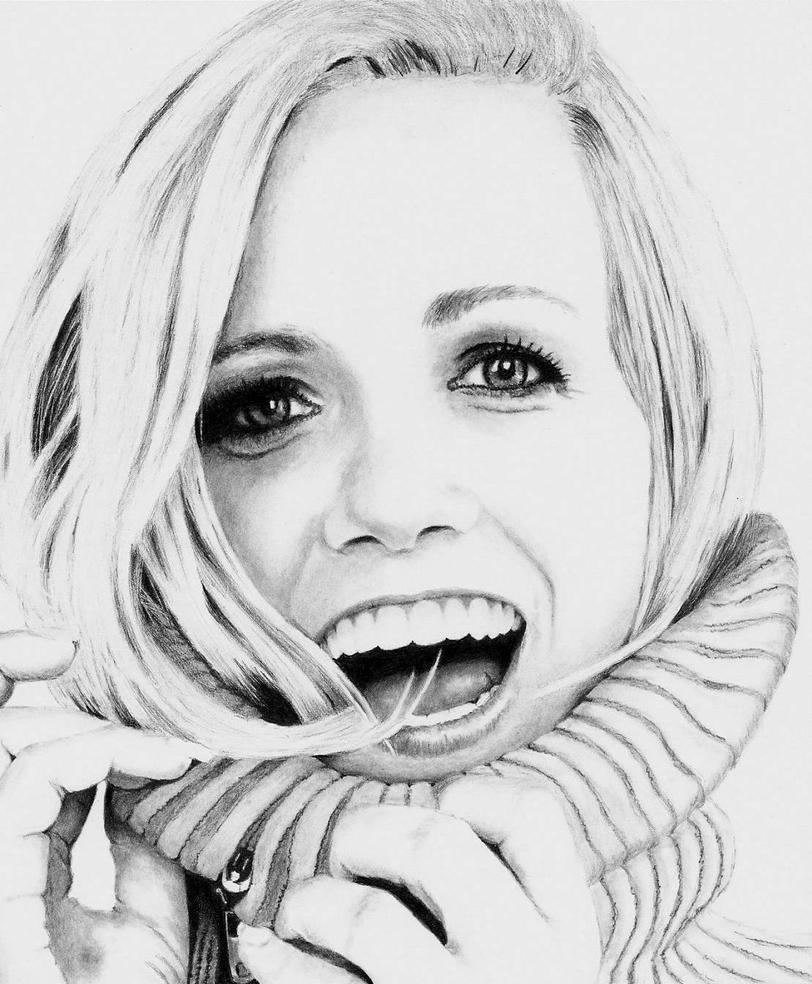Katie Herzig - WIP 4 of 4 by Rick-Kills-Pencils