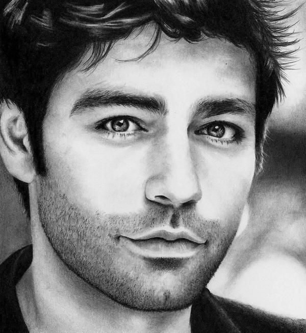 Adrian Grenier as Vince Chase by Doctor-Pencil