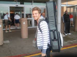 Andrew Belle at Airport