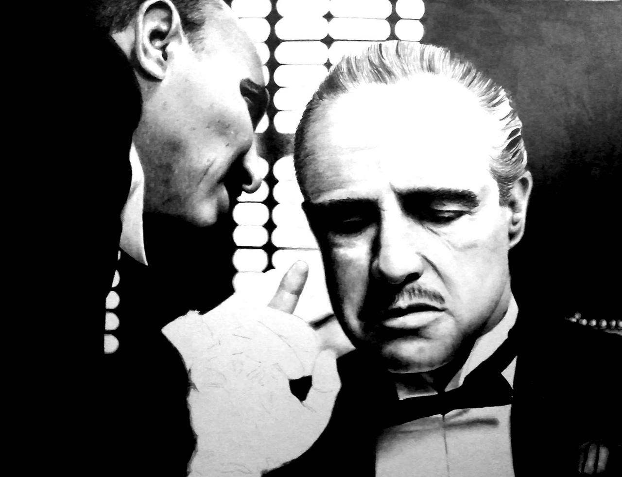 The Godfather - WIP by Doctor-Pencil