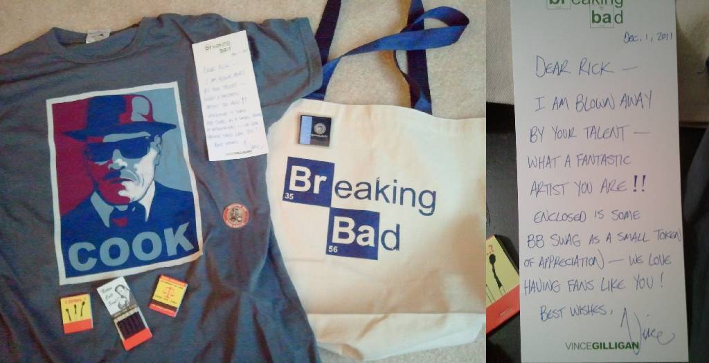 Breaking Bad SWAG - Gifts from Vince Gilligan by Doctor-Pencil