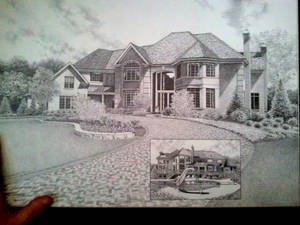 House Drawing by my friend