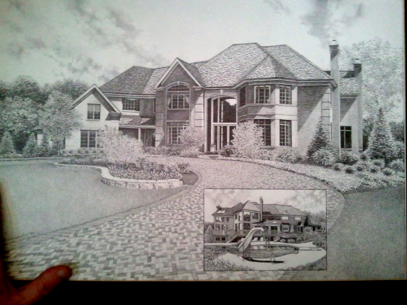 house drawing by my friend by doctor pencil on deviantart