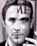 Ryan Gosling - George Clooney MORPH