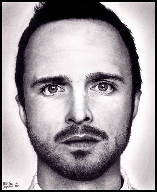 Aaron Paul - Jesse Pinkman - BREAKING BAD by Doctor-Pencil