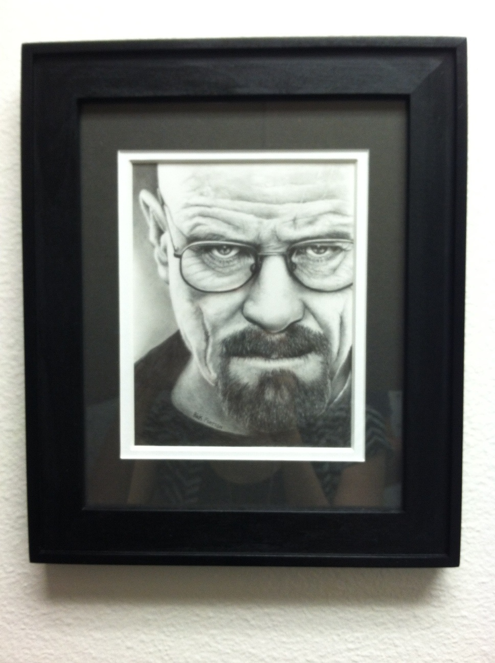 Walter White hanging at Breaking Bad's Office by Doctor-Pencil