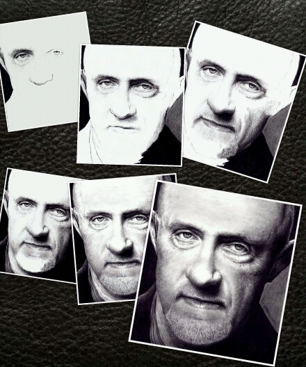6-Steps to BREAKING BAD Mike by Doctor-Pencil