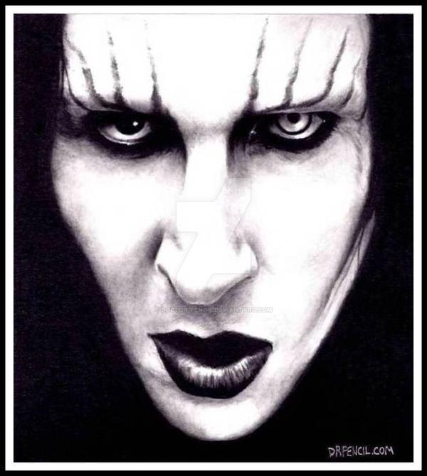 Marilyn Manson 4 by Doctor-Pencil