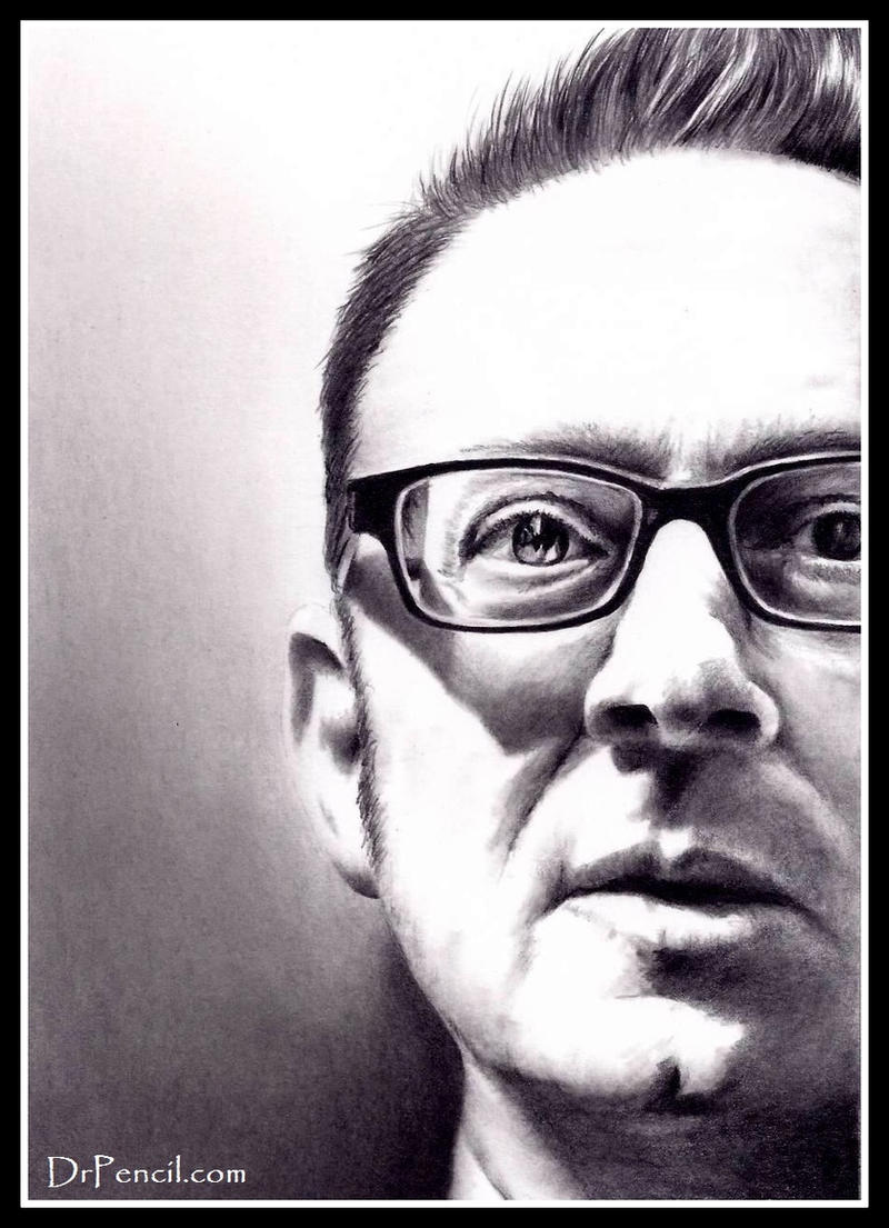 Michael Emerson - Person Of Interest by Rick-Kills-Pencils