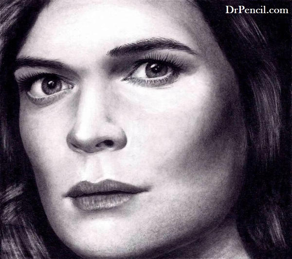 Betsy Brandt as Marie Schrader on BREAKING BAD by Rick-Kills-Pencils