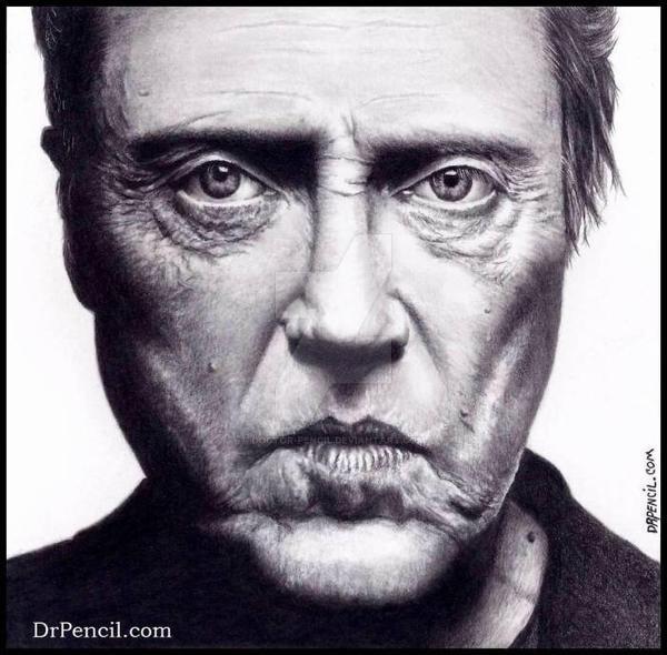 Christopher Walken by Doctor-Pencil