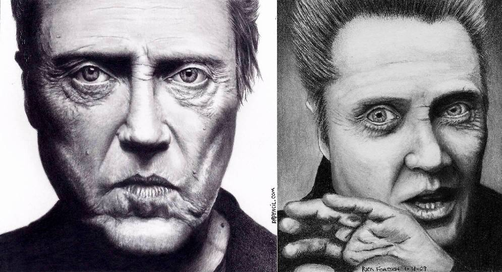 Christopher Walken after 4 years of progress by Doctor-Pencil