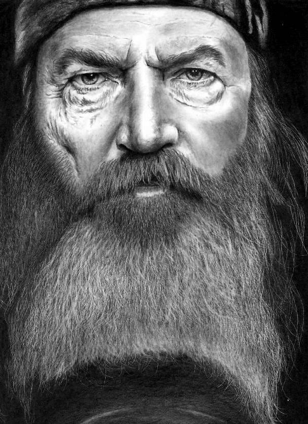 Duck Dynasty - Phil Robertson by Rick-Kills-Pencils