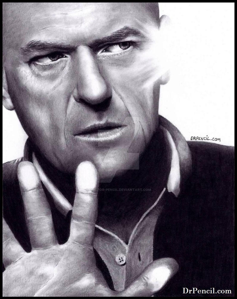 Dean Norris - Breaking Bad AND Under The Dome by Doctor-Pencil