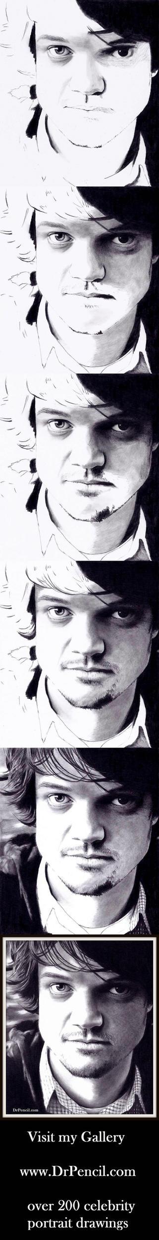 Matt Jones - Badger on BREAKING BAD - WIP strip by Rick-Kills-Pencils