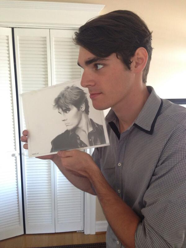 RJ Mitte with my Drawing - BREAKING BAD by Rick-Kills-Pencils