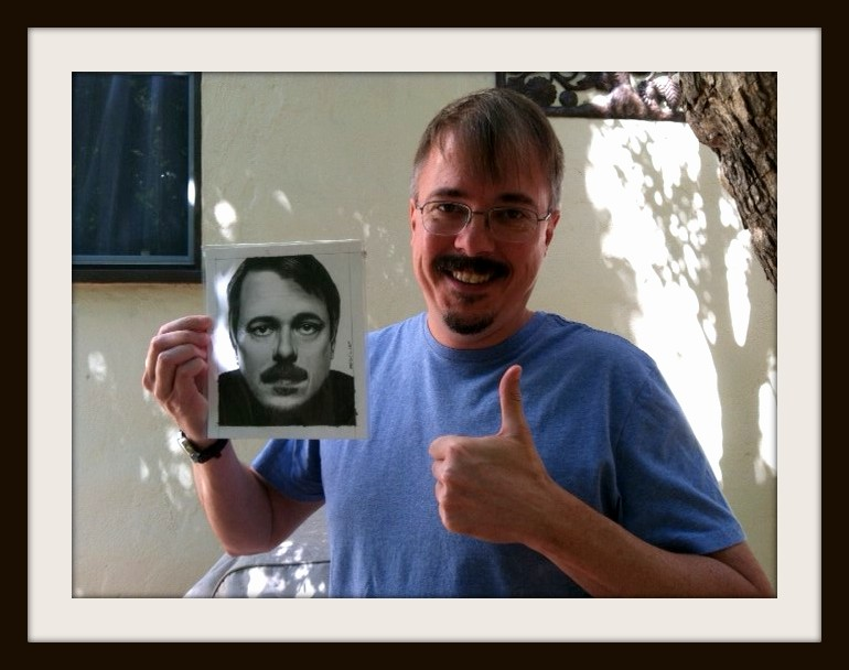 Vince Gilligan - creator of BREAKING BAD by Doctor-Pencil