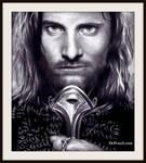 King Aragorn - Lord of The Rings - Viggo Mortenson