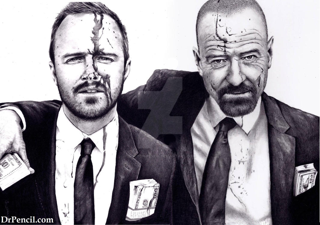 Breaking Bad - 2 scans joined by Doctor-Pencil