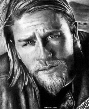 Charlie Hunnam as Jax Teller - Sons of Anarchy