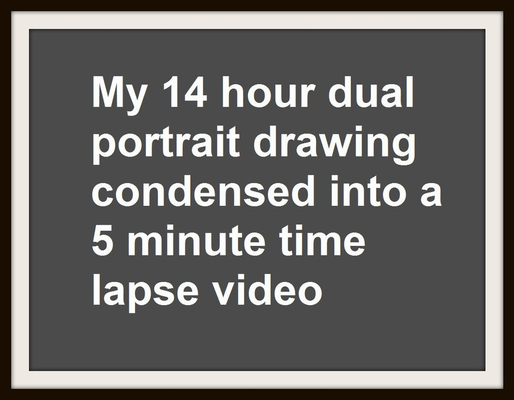 My 14-hour Drawing as a 5-minute time-lapse video by Rick-Kills-Pencils