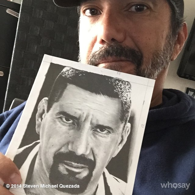 Steve Quezada with drawing - BREAKING BAD by Rick-Kills-Pencils