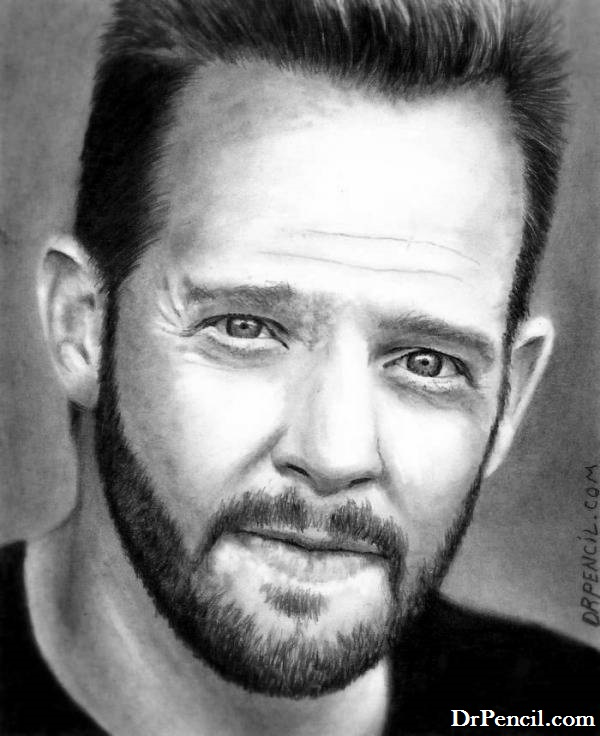 Jason Gray Stanford - Randy Disher - MONK by Doctor-Pencil